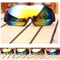 gafas de sol de esquí niebla al por mayor-2019 Capas Hombres Mujeres Marca Gafas de esquí dobles anti-vaho Esquí MÁSCARAS NIEVE snowboard máscara de esquí Gafas de sol Gafas de invierno