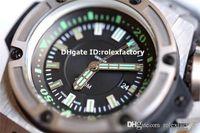 reloj de grandes buceadores al por mayor-Top Luxury Diver 731.NX.1190.RX Reloj Titanium Estuche 1400 Sapphire automático Big Watch Power Reserve 42H Dial negro de alta calidad 48 mm