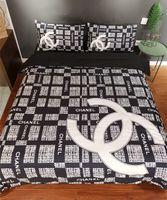 Wholesale men duvet cover for sale - Group buy Branded Baby Adult Home Bedding Sets Designer Women Men Letter Printing Cotton set Duvet Cover Set Bed Sheet Duvet Cover Pillowcase