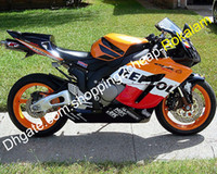 Wholesale black orange motorcycle fairing for sale - Group buy Repsol Fairings For Honda CBR1000 RR CBR1000 CBR1000RR ABS Motorcycle Fairing Kit Red Orange White Black Injection molding