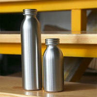 Wholesale cups for milk resale online - 20oz stainless steel water bottle leakproof kettle for travel Vacuum flask with lid double wall milk bottle coffee beer cup A07