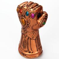 bar aletleri malzemeleri toptan satış-Roman Thanos Yumruk Şişe Açacağı Şarap Açacakları Mutfak Aletleri Gadget Bar Favor Malzemeleri erkek Hediye DEC460