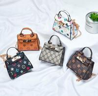 Wholesale cute style handbags for sale - Group buy Designer Children Crossbody High Quality Luxury Mini Cute Girl Shoulder Bag Fashion Women Handbags Purses Print Baby Girl Bag
