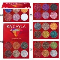 Wholesale beauty eyeshadow for sale - Group buy KA CAYLA Colors Eyeshadow Palette Eyes Makeup Brand Beauty Eyeshadow Palette Colors Glitter Shimmer Eye Shadow Hot