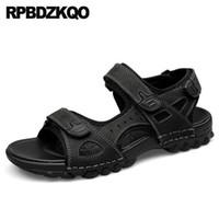 мужские итальянские кроссовки оптовых-Large Size Sport Shoes Native Gladiator 46  Nice Sneakers Runway 45 Mens Sandals 2019 Summer Outdoor Italian Big