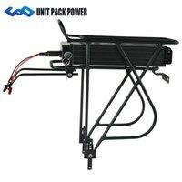 стойка для велосипедов оптовых-UPP Задняя батарея для стойки 48V 12Ah 750W E-Bike Battery 48V Электрические аккумуляторы для велосипедов для 750W 500W мотора