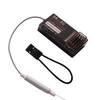 canais transmissores venda por atacado-E6-A MC6DR microzona 2.4 Ghz 6 canal receptor de controle rádios receptor 6CH compatível para MC6 e MC6A MC6B Transmissor