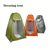 Wholesale automatic pop up tents for sale - Group buy Pop up Shower tent beach fishing shower outdoor camping toilet tent changing room with Carrying Bag