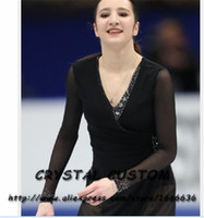 Wholesale skating figure for sale - Group buy Custom Made Figure Skating Dress Adult New Brand Figure Skating Dresses For Competition DR4786