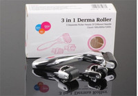Wholesale dermaroller for face for sale - Group buy 3 in Kit Derma Roller for Body and Face and eye Micro Needle Roller Needles Skin DermaRoller