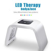 thérapie anti-vieillissement anti-lumière rouge achat en gros de-Coréen 660 nm PDT Facial Led Bio-lumière Photon Infrarouge Lumière Thérapie Rouge Lampe Panneau Beauté Dispositif Machine Médical Pour Anti-Vieillissement