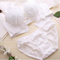 c295173fc958d Women Bra+briefs Sexy Lingerie Lace Embroidery Breathable Padded Push Up Sets  Underwear Comfortable 2018 New Arrival. Supplier  clothfirst