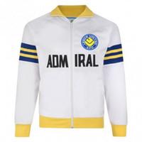 birleşik ceketler toptan satış-1978 Leeds United Retro eşofman futbol koşu takım elbise futbol eğitimi uzun üniformalar bağbozumu survetemen ceket