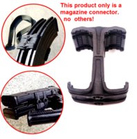 1 PCS mag link MagazinesHunting Magazine link Dual Coupler adjustable Polymer Fits 5.56 and 7.62 For AK47 M4