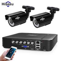 Wholesale tvl kits resale online - Hiseeu CH DVR CCTV System Cameras CH MP IR Outdoor Security Camera P HDMI AHD CCTV DVR TVL Surveillance Kit