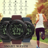 Wholesale alarm message watch for kids online – SPOVAN Waterproof Bluetooth Sports Alarm Heart Rate Monitor TPU Band Blood Pressure Measurement Color Screen Smart Watch
