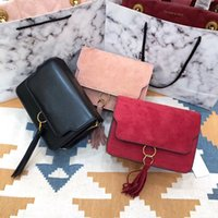 Wholesale american fashion dresses online - European and American bag female new fashion Messenger shoulder bag wild simple handbag PUTAO