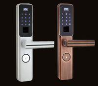 portas biométricas venda por atacado-bloqueio inteligente eletrônico biométrico de impressão digital com segurança fechadura da porta inteligente e senha