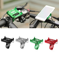 Wholesale phone holder motorcycle iphone for sale – best Metal Bike Bicycle Holder Motorcycle Handle Phone Mount Bracket Stand For iPhone Samsung LG Cellphone Mobile Phone GPS car