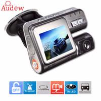 araçta seyahat eden veri kaydedici toptan satış-Freeshipping HD 1080 P 2.0 Inç Araba DVR Video Dash Kamera Registrator IR Gece Görüş DVR Video Kaydedici Ile USB G-sensör 170 Derece