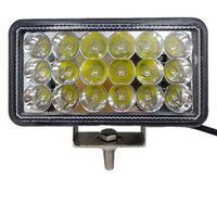 Wholesale external led spot light for sale - Group buy Automotive working lights Automotive external LED headlights rows beads W super bright spotlight waterproof headlights V24V