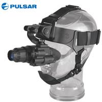 infrarot nachtsicht monokular großhandel-Pulsar Nachtsichtbrille 74099 GS 1x20 Taktische Jagd Nachtsichtgerät Infrarotbrille mit Helmhalterung