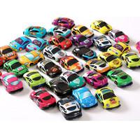 игрушки для детей оптовых-Pull Back Car Toys Car Детский Гоночный Автомобиль Детские Мини Автомобили Мультфильм Pull Back Автобус Грузовик Детские Игрушки Для Детей Мальчик Подарки ИГРУШКА