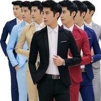 ingrosso uomini coreani del cappotto-Abiti da uomo su misura Abiti da cerimonia Abiti da uomo Abiti da uomo casual Abiti da sposo coreano Abiti eleganti (cappotto)