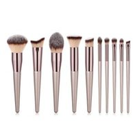 Wholesale beauty makeup tools online - Woman Wood handle Makeup Brushes Soft Foundation Cosmetic Eyebrow Eyeshadow Brush Lady Fashion beauty tools LJJT244