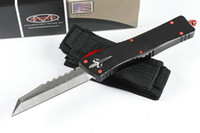 MT Automatic Knife Hellhound Tanto MICOR KNIVES TECH action tactical KNIFE UTX85 with 6061-T6 aluminum handle EDC Pocket Knives