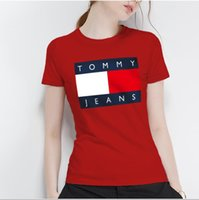 bluz fiyatları toptan satış-Tasarımcı t-shirt yeni tasarımcı baskılar bayanlar t-shirt trendy yaz kısa kollu bayan bluzlar yeni bayan t-shirt toptan eşya fiyatları