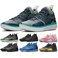Wholesale chinese embroidered laced shoes for sale - Group buy Men Basketball Shoes KD11 EP Kevin DurantKD BHM Chinese Zodiac High Quality Foam Sneaker Store Womens Sports Trainers Sneakers