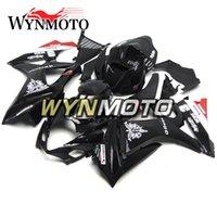 motocicletas gsxr plásticos venda por atacado-Motocicleta Carenagens Para Suzuki GSXR1000 K7 2007 2008 Preto Vermelho Branco ABS Injeção De Plástico gsxr 1000 07 08 motocicleta Cobre capotas