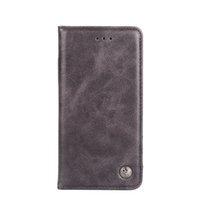 ingrosso custodia in pelle nera iphone 6s-Cassa del telefono di alta qualità all'ingrosso per iPhone 6 6S 7 8 più custodia in pelle per iPhone X XS Max XR copertura del telefono nero