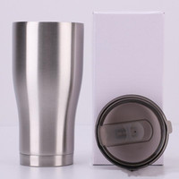 Wholesale design coffee travel mug for sale - Group buy Curving Tumblers Waist Shape Water Cups Travel Mug Coffee Beer Cup Stainless Steel Water Bottle oz Classic Tumbler with Lid Costom Design