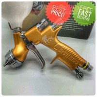 lite de oro al por mayor-Devilbiss GTI PRO LITE Oro 1.3mm boquilla LVMP pintura de coche pistola pistola pulverizadora T110