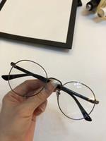 gafas de sol de moda polarizadas al por mayor-montura de gafas Gafas de lujo 0297 Gafas de montura Spectacle para hombres Mujeres Miopía Gafas de marca con montura de lente transparente