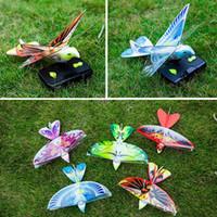aviones de control rc al por mayor-Nueva Llegada Mini Espuma Anti-Choque RC Drone TECHBOY 98007+ 2.4 GHz RC Bird Control Remoto Auténtico E-Bird Flying Bird Avión Aviones RC Juguetes