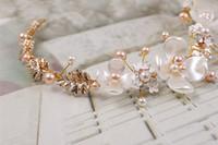 старинная посеребренная расческа оптовых-Свадебные тиары оптом свадебные аксессуары для волос жемчужные керамические золотые повязки на голову роскошные свадебные аксессуары тиары