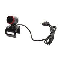 mega mikrofon toptan satış-Mikrofon Mikrofon Laptop PC USB 2.0 Klip WebCam Web Kamera