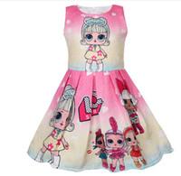 kleines mädchenkleid entwirft sommer großhandel-Ins heiße Verkäufe Baby-Sommerkleid 2019 Kindermädchenprinzessin-Kleiderentwurf wenig Babysäuglingsparty-Kostümkleider