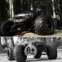 Wholesale speed remote toy cars for sale - Group buy Hot Toys RC Cars G Big foot Monster Off road km h High Speed Rock Climbing Off road Remote Control Car Toy Vehicles Y200413