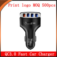 Wholesale 9v charger for tablet for sale – best QC3 fast Car charger with USB V V V total A for iPhone Samsung Xiaomi Tablet
