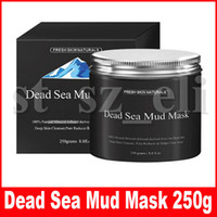 Wholesale natural masks for face resale online - Women Face Care Mask Mud Pure Body Naturals Mineral Beauty Dead Sea Mud Mask for Facial Treatment g