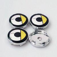 Wholesale wheel centre caps hub covers resale online - 60mm Car Emblem Badge Wheel Hub Caps Centre Cover SMART Fortwo Forfour Roadster Forjeremy Forspeed Forstars For us