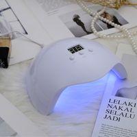 cute white nail lamp uv gel nail polish dryer for uv  led  builder glues 36w USB cable nails lamps
