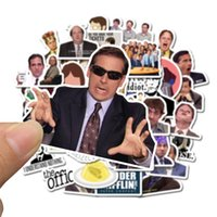 Wholesale mirror friends for sale - Group buy 50 Mixed Car Stickers The Office Friends For Skateboard Laptop Pad Bicycle Motorcycle PS4 Phone Luggage Decal Pvc guitar Stickers