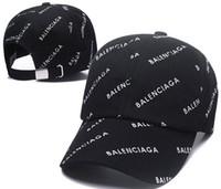 bonés de beisebol de designer preto venda por atacado-Novo Boné de beisebol Bordado Carta Sol Ajustável Snapback Caps Hip Hop Chapéu de Dança de Verão Ao Ar Livre osso Homens Mulheres Clássicos Designers chapéus preto