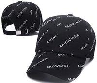 siyah kadın çantası toptan satış-Yeni Beyzbol Şapkası Nakış Mektup Güneş Ayarlanabilir Snapback Kapaklar Hip Hop Dans Şapka Yaz Açık kemik Erkekler Kadınlar Klasik Tasarımcılar şapka siyah