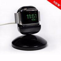 зарядка apple iwatch оптовых-Оптовая зарядки док-станция для Apple Watch 4/3/2/1 iwatch 44/42/40/38 мм зарядное устройство станции стенд fit ночь прикроватные часы уникальный дизайн